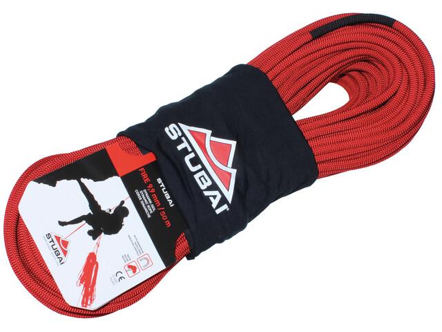 Stubai Fire Dynamik - Corde d'escalade - 50m rouge